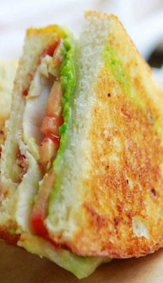 Panini Sandwiches, Grilled Sandwich, Best Sandwich, Soup And Sandwich, Wrap Sandwiches, Lunch Recipes, Great Recipes, Cooking Recipes, Favorite Recipes