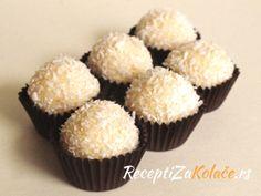 Rafaelo kugle http://www.receptizakolace.rs/kolaci-recepti/sitni-kolaci-recepti/6-rafaelo-kugle