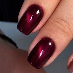Gel polish - cat eye with stained glass glaze over? or reverse?