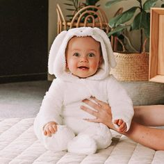 The softest little bunny 🐰 Hoppy Easter, Baby Essentials, Our Baby, Children, Kids, Fashion Accessories, Bunny, Happiness, Comfy