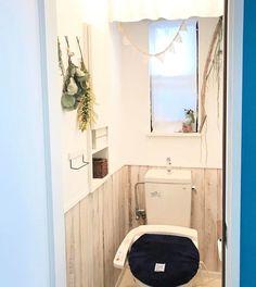 大変身!中古住宅の暗〜いトイレを明るくナチュラルな空間にDIY!|LIMIA (リミア)