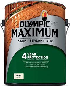 Olympic® MAXIMUM® Stain + Sealant in One Toner