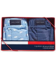 Tommy Hilfiger Woven Print Boxers 2-Pack