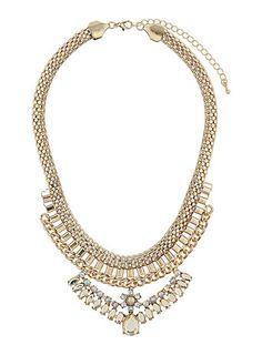 Chain pretty stone necklace from Dorothy Perkins (http://us.dorothyperkins.com/en/dpus/product/accessories-788623/fashion-jewelry-788662/chain-pretty-stone-necklace-1818613?bi=401=20)