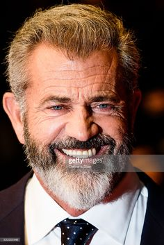 Photo d'actualité : Actor Mel Gibson attends the 'Blood Father'...