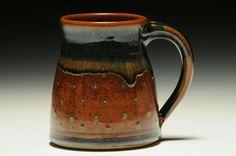 Mark Nafziger - mug Stoneware Mugs, Ceramic Cups, Clay Mugs, Pottery Marks, Tumblers, Coffee Shop, Tea Pots, Pottery Ideas, Mosaics