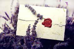 Lavender wedding invitations - Invitatii de nunta moderne cu lavanda