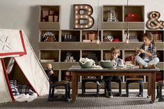 38 Vintage Industrial Yet Cute Kid's Playroom IdeasStudioAflo | Interior Design Ideas | StudioAflo | Interior Design Ideas