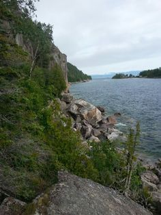 Agawa Rock Great Lakes, Ontario, Rock, Water, Outdoor, Gripe Water, Outdoors, Stone, Rock Music