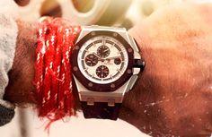 Audemars Piguet watch; Miansai by Michael Saiger bracelet