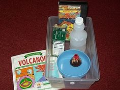 How to make a volcano