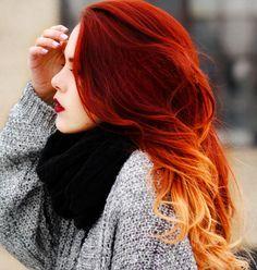 Blau, Lila, Rot und Haarfarben