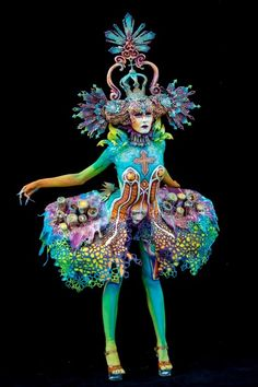 Austria's 20th World Bodypainting Festival 2017 -- Day Two