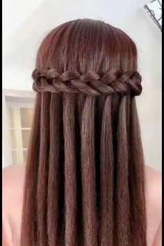 Natural Hair Styles, Short Hair Styles, Plait Styles, How To Style Short Hair, Hair Braiding Styles, Hair Puff, Hair Upstyles, Long Hair Video, Easy Hairstyles For Long Hair