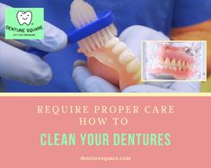 Know More About How To #Clean Your #Dentures #teeth #smile #clean #gums #mouth Dental Group, Teeth, Personal Care, Cleaning, Smile, Personal Hygiene, Home Cleaning, Dental, Tooth