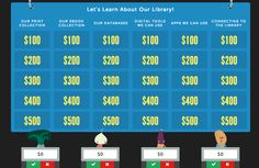 The Library Voice: Jeopardy ROCKS! And Your Students Will Think This Online Game Does Too!
