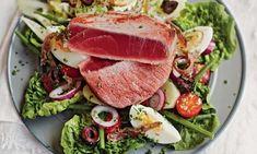 Pierre Koffmann's salade niçoise with seared tuna.