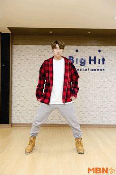 Bts Jungkook I need U choreography Bts Jungkook, Hoseok, Namjoon, Seokjin, Jung Kook, Bts Memes, Wattpad, Bts Gifs, Dance Kpop