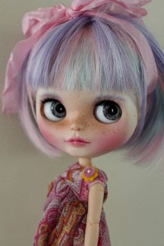Hester a custom Blythe doll by Willow Designs