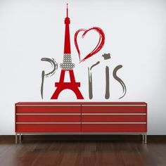 Vinilos Decorativos Torre Eiffel París Vinyl Wall Decals, Wall Stickers, Kitchen Wall Decals, Interior Wallpaper, Art N Craft, Stencil Designs, Wall Treatments, Decoration, My Room