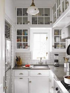 Havens South Designs loves this small kitchen
