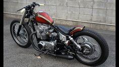 Yamaha XS650 By TR Garage