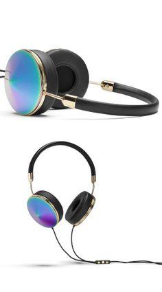 Iridescent head phones #product_design