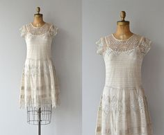 Prologue and Prelude dress  vintage 1920s dress  by DearGolden, $425.00