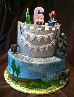 Disneys brave cake