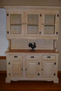 The Midwest Cottage French Country Hutch