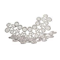 Brigitte Adolph - Silver Doily Brooch - ORRO Contemporary Jewellery Glasgow