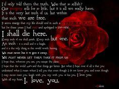 Valerie's letter - V for Vendetta
