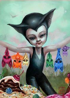 BAT GIRL & THE SUGAR PUPS BY MAB GRAVES AND MICHAEL BANKS (SUGAR FUELED)