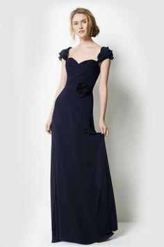 A-Linie Bridesmaid dress in Chiffon