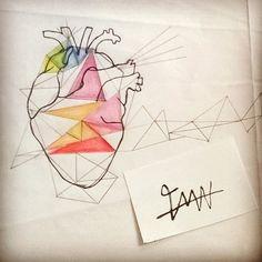 Em processo #tamen #tmn #cuore #coração #heart
