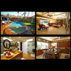 5bdrm, sleeps 10 in Palm Springs California. As low as $95 per person, per night.