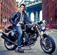 V - David Gandy motorcycle