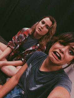 Nia and Miranda