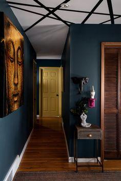 1930s House Interior, House Paint Interior, Interior House Colors, Home Design Decor, Home Interior Design, House Design, Home Decor, Home Wall Colour, Neoclassical Interior
