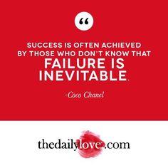 Visual Inspiration: Failure Is Inevitable