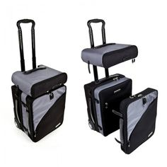 TRUCO Modular Luggage - Tools and Travel - Accessories #suitcase #carryon #laptopcase