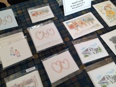 Notecards (and a wonderful NH book, Colorful Journey) will be at Zing!