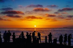 """""""Surround yourself with people who talk about visions and ideas, not other people."""" - Akin Olokun 📍 La Jolla Cove, La Jolla, CA, USA . Photographed with: @canonusa 5D Mark II w/ 24-70mm f2.8 . Edited with: @adobecreativecloud Lightroom CC . The crowds photograph a spectacular and beautiful California sunset at La Jolla Cove. #lajollalocals #sandiegoconnection #sdlocals - posted by Oliver Asis  https://www.instagram.com/oliver_asis. See more post on La Jolla at http://LaJollaLocals.com"""