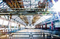 Hazemeijer Hengelo is een uniek fabrieksterrein. Een sfeervolle locatie voor het organiseren van evenementen en een inspirerende werkplek voor ondernemers.