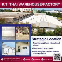 Storage For Rent, Warehouse Project, Suvarnabhumi Airport, Flood Zone, Wooden Decor, International Airport, Outdoor Decor