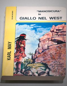 Winnetou in Italian (Old Surehand novel) ... Translations from around the World