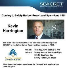 Kevin Harrington joins Seacret! You can join too for only $49.95 www.seacretdirect.com/misty