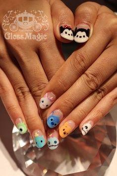Tsum tsum nails