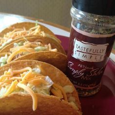 Use our Simply Salsa Prepared on your Tacos! Purchase Simply Salsa here: www.TSKimmer.com