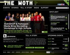 The Moth :: True stories told live